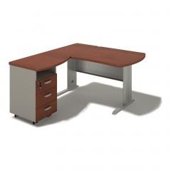 Kancelářský stůl Berlin 140x160x74 cm - B175