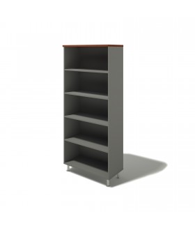 Kancelářská skříň policová 90x43x207,4 cm - BERLIN lux
