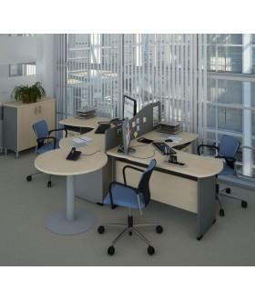 Sestava kancelářského nábytku Berlin BE03