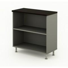 Kancelářská skříň nízká Berlin Lux 90x43x93 cm - B404