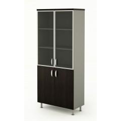 Kancelářská skříň kombinovaná Berlin Lux 90x43x207,4 cm  - B428