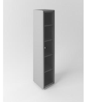 Skříň se skleněnými dveřmi Evropa  - výška 196,5 cm