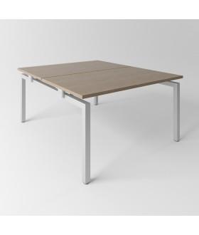 Psací stůl Evropa 138x163 cm - pro 2 pracovní místa - C1416