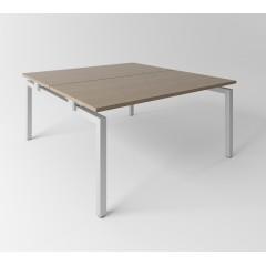 Psací stůl Evropa 158x163 cm - pro 2 pracovní místa - C1616