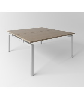 Psací stůl Evropa 158x163 cm - pro 2 pracovní místa