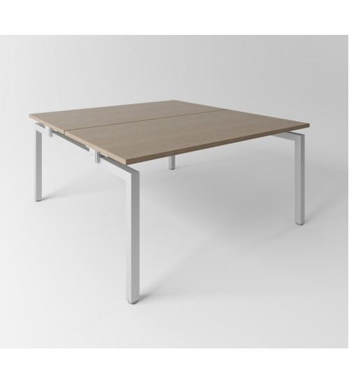Psací stůl Evropa 178x163 cm - pro 2 pracovní místa