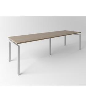 Psací stůl Evropa 276x80 cm - pro 2 pracovní místa