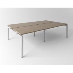 Psací stůl Evropa 276x163 cm - pro 4 pracovní místa - C281608