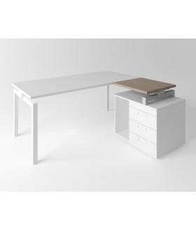 Přístavný stůl Evropa 60x60 cm - ke kontejneru