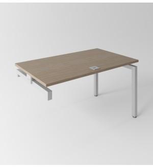 Psací stůl Evropa 138x80 cm - ke kontejneru - CPK1408
