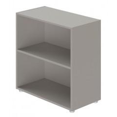 Kancelářská skříň policová EVROPA  s/bez dveří  - výška 80 cm - KM814201