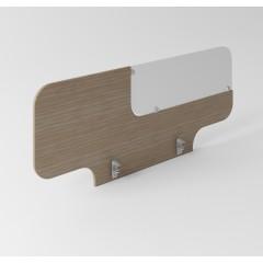 Dělící panel Evropa s matným plexisklem 138x50,4 cm - PK14
