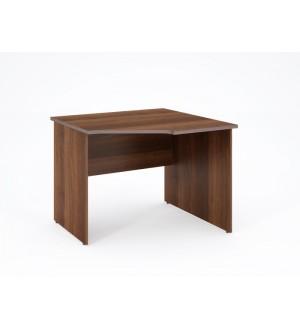 Rohový psací stůl Ligh 95x95 cm - pravý