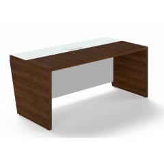 Kancelářský psací stůl TRIVEX -  180x90 cm - dub Charleston/bílá