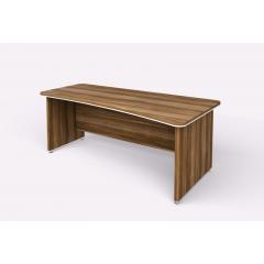 Kancelářský psací stůl WELS zaoblený 200x100 cm pravý - 101101