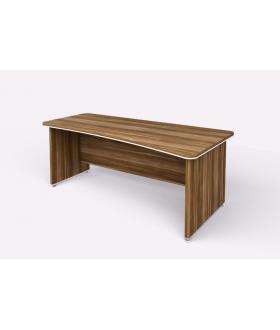 Kancelářský psací stůl WELS zaoblený 200x100 cm pravý