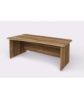 Kancelářský psací stůl WELS zaoblený 200x100 cm levý