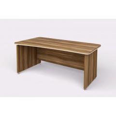 Kancelářský psací stůl WELS zaoblený180x94,8 cm levý - 101202