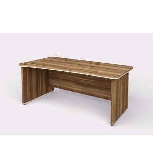 Kancelářský psací stůl WELS zaoblený180x94,8 cm levý