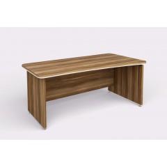Kancelářský psací stůl WELS zaoblený 180x94,8 cm pravý - 101201