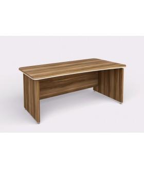 Kancelářský psací stůl WELS zaoblený 180x94,8 cm pravý