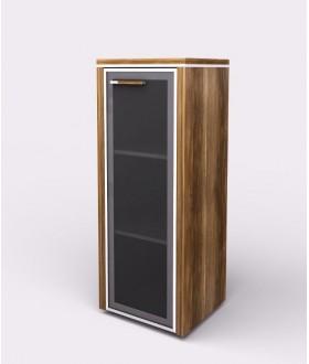 Kancelářská skříň WELS 42,5x39,9x119,5 cm - prosklená - pravá - 104831