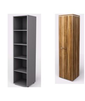 Kancelářská skříň  WELS 40,4x39,9x196,5 cm - policová - KM810501