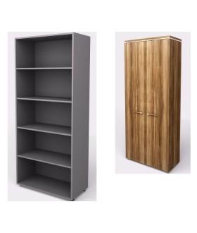Kancelářská skříň  WELS 40,4x79,8x196,5 cm - policová - KM814501