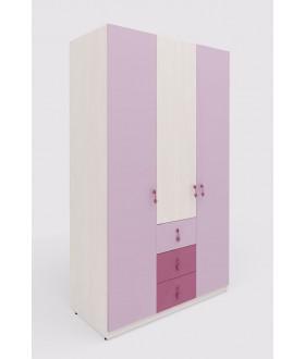 Dětská šatní skříň MIA - výška 210cm