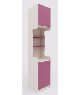 Dětská skříň MIA 144.107 - výška 210cm - levá