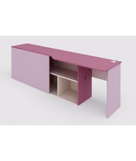 Stůl s kontejnerem pro dvoupatrovou sestavu 147.514 - levá