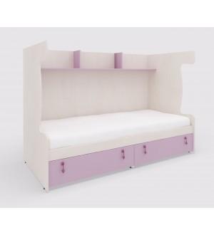 Sestava pro patrovou postel MIA s vestavěnou spodní postelí 147.516