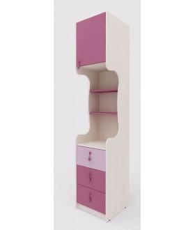 Dětská skříňka MIA 144.108 - výška 210cm - pravá