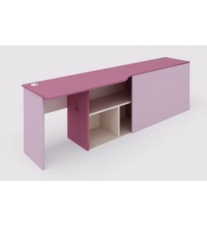 Stůl s kontejnerem pro dvoupatrovou sestavu 147.515 - pravá
