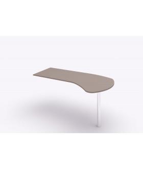 Přístavný psací stůl Siluet 148x81,2cm - pravá