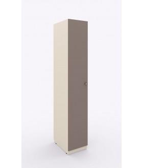 Jednokřídlá skříň Siluet s ramínkovou tyčí 264.104