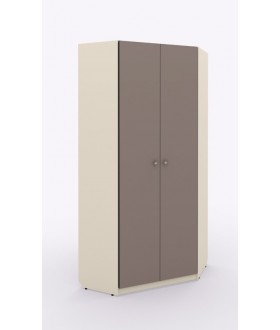 Rohová skříň šatní Siluet  - výška 235,6 cm