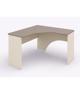Rohový psací stůl Siluet 123x123 cm