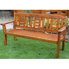 Dřevěná zahradní lavice GOLDEN - 3 osoby
