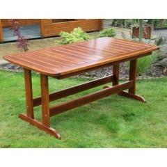 Dřevěný zahradní stůl LOTUS