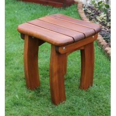 Dřevěná zahradní stolička LORETA