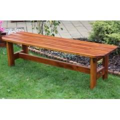 Dřevěná zahradní lavice ORBA  bez opěradla