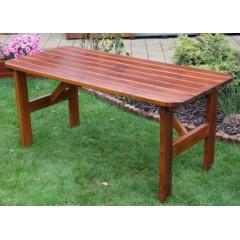 Dřevěný zahradní stůl ORBA - 150 cm
