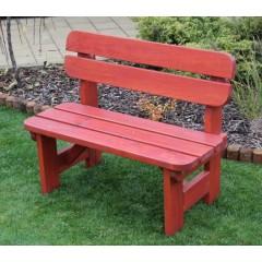Dětská zahradní dřevěná lavička