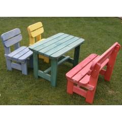 Dětský zahradní dřevěný set