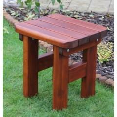 Dřevěná zahradní stolička ROVNÁ