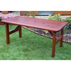 Dřevěný zahradní stůl ROVNÁ