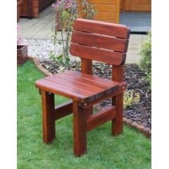 Dřevěná zahradní židle ROVNÁ