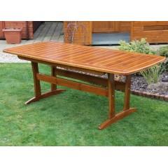 Dřevěný zahradní stůl RALEN velký  - 190 cm