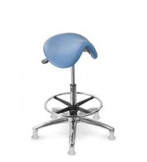 Sedlová stolička s naklápěcím sedákem MEDI 1213 G dent